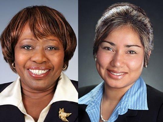 Loretta Scott, Jackie Ortiz