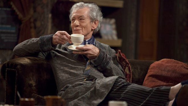 Are you being served? Not by this material, poor Ian McKellen.