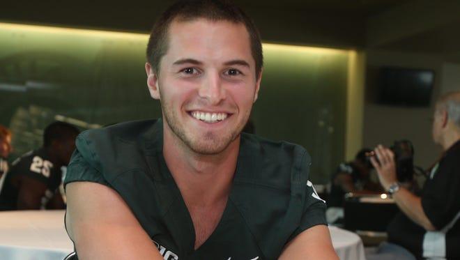 Former MSU punter Mike Sadler was killed in a car accident last week.