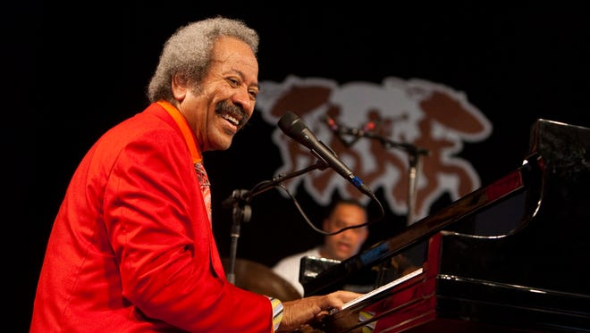 Allen Toussaint performs at the New Orleans Jazz and Heritage Festival in May 2010.
