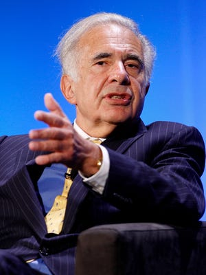 """Billionaire investor Carl Icahn says there's a """"fundamental misunderstanding"""" about the future prospects of Gannett's publishing business."""