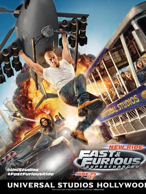 Fast & Furious — Supercharged hits Universal Studios Hollywood.