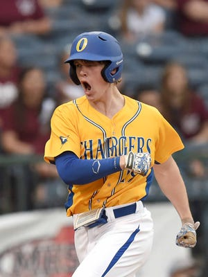 Oxford's Houston Roth and the Oxford Chargers are back in the state championship series to defend their 5A title.