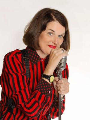 Comedian Paula Poundstone plays the Meyer Theatre on Saturday night.