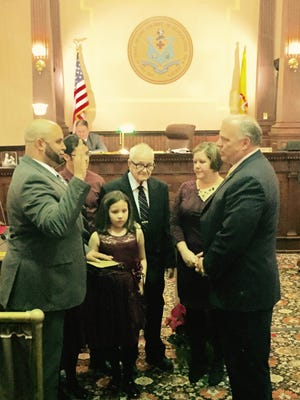 Gloucester County Freeholder Jim Jefferson was sworn in to the post on Jan. 1.