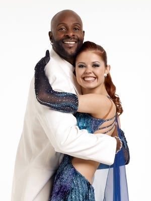 """Jerry Rice partnered with Anna Trebunskaya on the second season of """"Dancing With The Stars."""" ABC Jerry Rice partnered with Anna Trebunskaya on the second season of """"Dancing With The Stars."""""""
