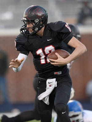 St. Stanislaus quarterback Myles Brennan, an LSU commitment, competed in the Elite 11 Finals.