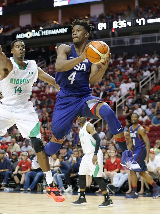 D'Amato: Jimmy Butler getting Olympic education