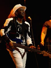 Culture Club bassist Mikey Craig performs July 8, 2016,