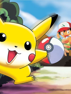 Pikachu and Ash try to catch 'em all.