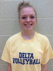 Delta's Chloe Stitt.