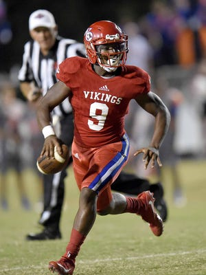 Warren Central quarterback Jessie Wilson is enjoying his best season while living in a new family environment.