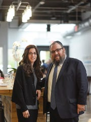 Levi and Bassie Shemtov, founders of Friendship Circle, opened Soul Cafe in April.