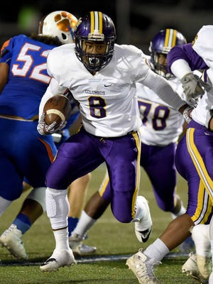 Columbus running back Kylin Hill is MSU's top rated 2017 commit.