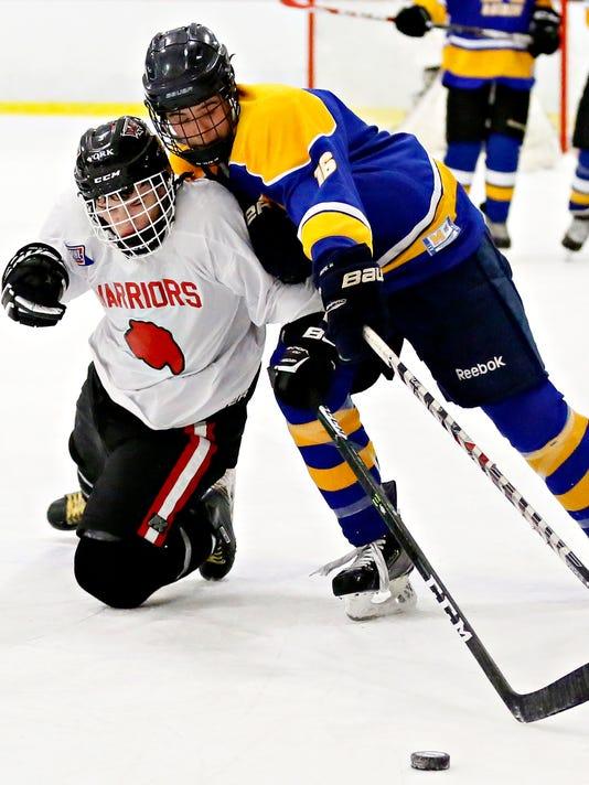 Susquehannock vs Middletown ice hockey