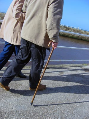 A recently published Mayo Clinic study found that problems associated with gait can predict a signifcant decline in memory and thinking.