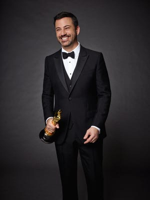 Jimmy Kimmel in a promotional image for Sunday's Academy Awards.
