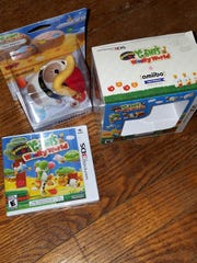 Poochy & Yoshi's Woolly World from Nintendo has it's