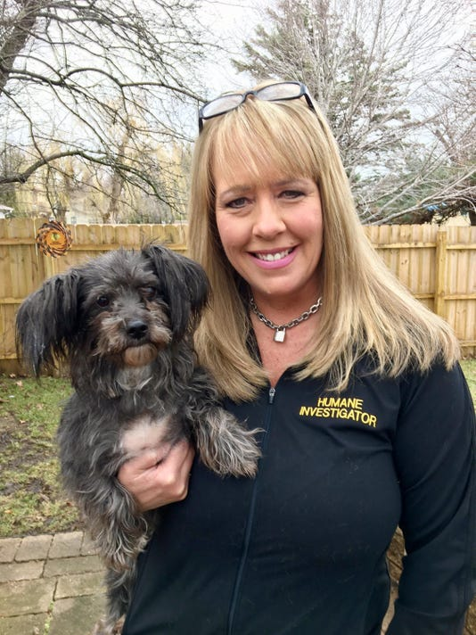 Ill. woman fights animal abuse, abandonment