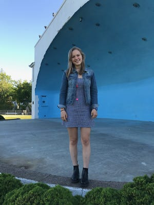 Girl Scout Sophia Swanson organized ARTBeat 2017 to be performed at the Kasschau Shell on June 6.