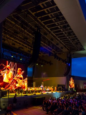 The 2016 Fourth of July show at Ascend Amphitheater and John Williams concert. A national study found the nonprofit arts and culture industry generates $429.3 million a year in economic activity and $51.1 million in local and state government revenue — in addition to 14,277 full-time jobs.
