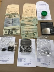 Drugs, money and other evidence of illegal narcotics sales was recovered during the arrest of a Burbank man on Thursday, Simi Valley police said.