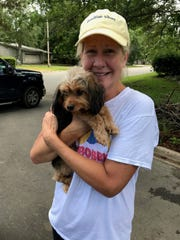 Rudy the Shorkie was found off Hermitage Boulevard and returned to his owner Laura Howard Tuesday after having been missing for a week.