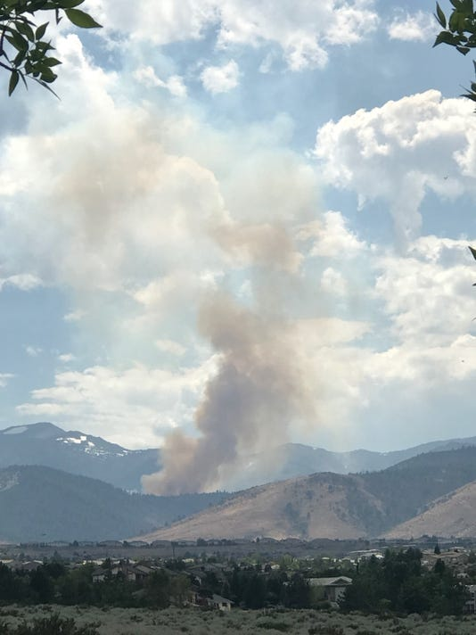 Mt. Rose Highway fire