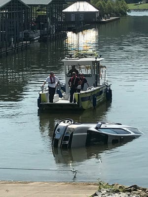 The Ashland City Fire Department said there was only one incident reported during today's eclipse -- a SUV and boat trailer ended up in the Cumberland River at the Harpeth Shoals Marina.