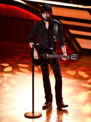 Chris Janson performs during the 11th annual Academy