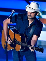 Brad Paisley performs during the 11th annual Academy