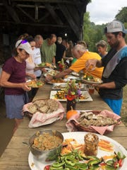 Five Madison County Farms will contribute fresh foods to the Pedal to Plate farm to table dinner.