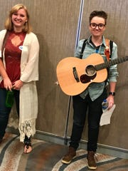 Maddie Todd, 23, of Sioux Falls, at the American Idol
