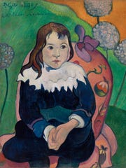 Paul Gauguin (French, 1848–1903)'s 'Mr. Loulou (Louis Le Ray)' is a 1890 oil painting on canvas. It is part of the Barnes Foundation collection.