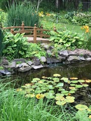 Earl Butler's gardens have been a labor of love since the 1970s.