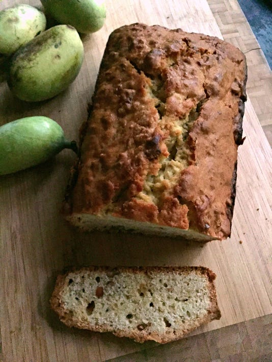 Let's eat: Pawpaw Bread with Toasted Walnuts