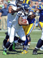 Eddie Lacy started against the Rams and ended up with 19 yards on nine carries.