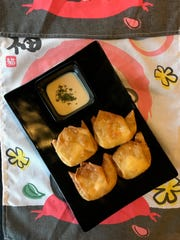 Omo serves crab rangoon that stands out because it's