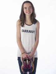 Anna Delahunt of Farragut High School on Thursday,