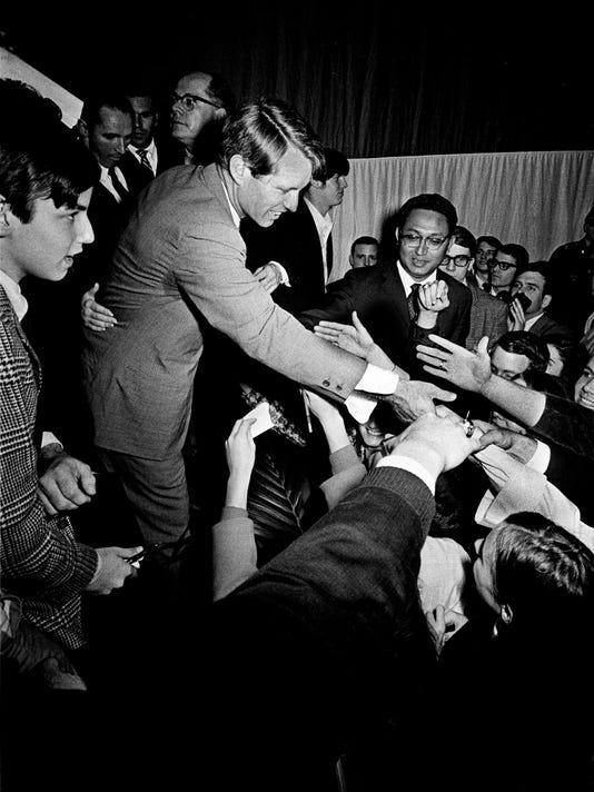 Robert Kennedy visit Nashville