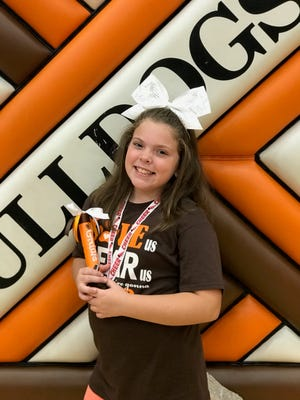 Ten-year-old Gracie Dudgeon died in February. The Live Like Gracie 5K Run & 2K Walk will be held April 14 at Geller Park and raise money for the Gracie D. Dudgeon Memorial Scholarship Fund.