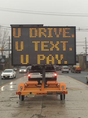 Michigan State Police are searching for distracted drivers today on M-59.