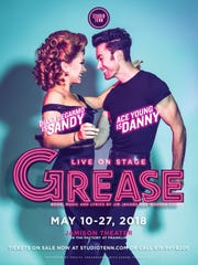 """Ace Young and Diana DeGarmo in """"Grease."""""""