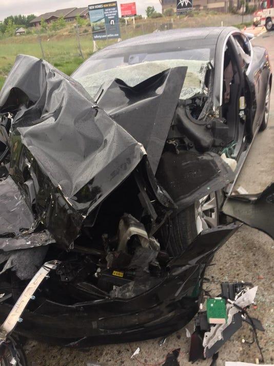 Tesla Crash Utah