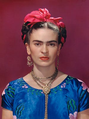 """The items in the Frida Kahlo exhibit will be juxtaposed with important self-portraits and photographs to study her appearance and style, which is considered """"highly choreographed."""""""