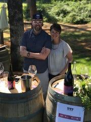 Joyful Noise Wine at the Uncommon Wine Festival at Vista Hills Vineyard
