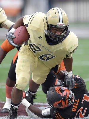 Former Bassfield star running back T'Rod Daniels has been a welcome addition to the Southern Miss backfield.