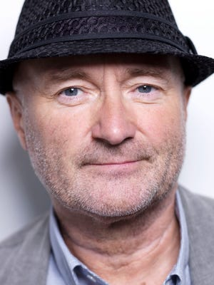 Musician Phil Collins poses for a portrait in New York on Aug. 26, 2010. Collins was scheduled to the Alamo on Thursday June 25, 2014 to announce that he is donating his collection of artifacts from the Alamo to the former mission and Texas revolutionary fort.