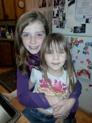 Shelby Fitzpatrick, left, and Chloe Glanton.