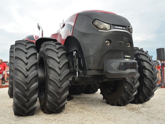 The Case IH autonomous tractor will not be available for at least a few more years, the company says.